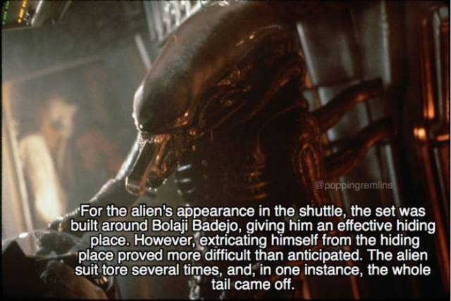 """These Facts About """"Alien"""" Are Just As Unnerving As The Movie Itself"""