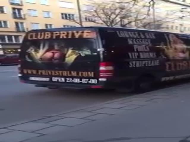 A Footage Of A Strip Club Seducing A Little Boy