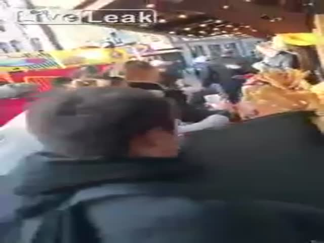 Instant Karma For The Pickpocket