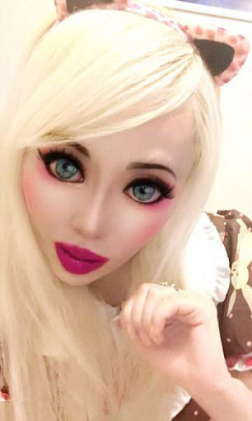 An Insane Transformation From A Goth To A Real Life Barbie Doll