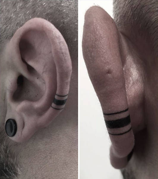 Helix Tattoo Trend Is Here And It's More Than Awesome!