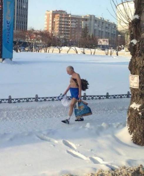 Russians Are a Different Breed to the Rest of Us