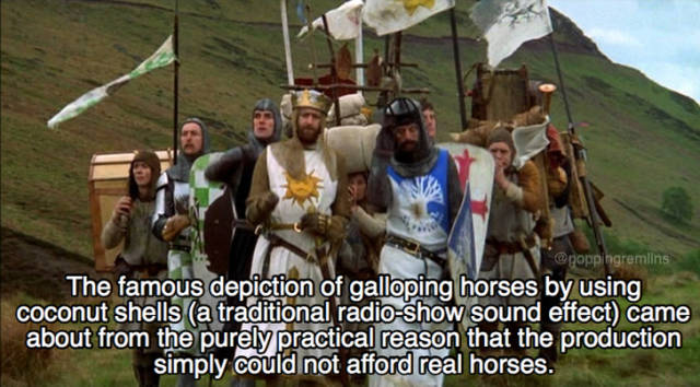 """Holy Sh#t, These """"Monthy Python And The Holy Grail"""" Facts!"""