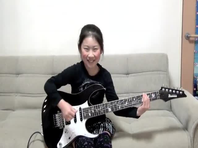 This 8-Year-Old Has More Metal In Her Than A Whole Rock Festival!