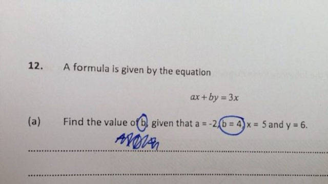 Okay, Math Is Not For Everyone