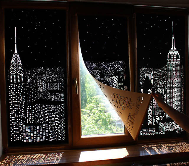 The Blackout Blinds Are Back In Trend With The Art Of Shadows!