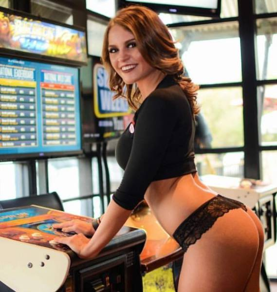Not Sure, If Someone Is Able To Still Watch Sports In That Sexy Sports Bar