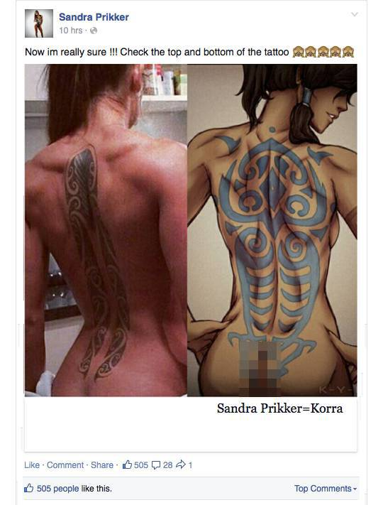 Model Sandra Prikker Is Ready To Convince The Whole World That She Was The Prototype For Korra