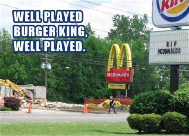 Fast Food Chains Are Good At Food – Not At Street Signs