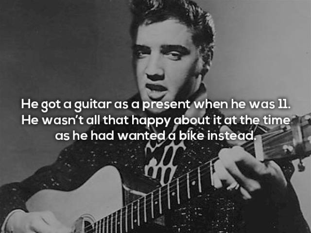 Rocking And Rolling Facts About The King Himself – Elvis Presley!