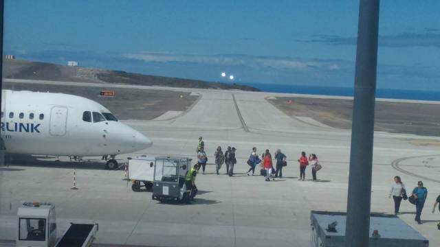 The World's Most Useless Airport Welcomes Its First Plane More Than A Year After Being Constructed