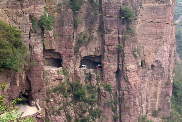These Mind-blowing Roads Could Take You To Either To Heaven Or To The Abyss