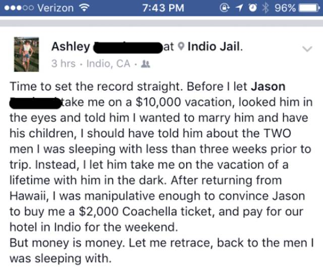 Now That's A More Than Brutal Way To Deal With Your Cheating Ex