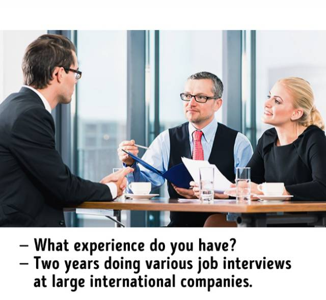 Nothing's More True About Job Interviews
