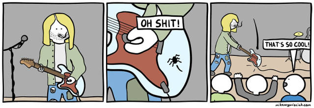 Some Comics Are Just So Evil…