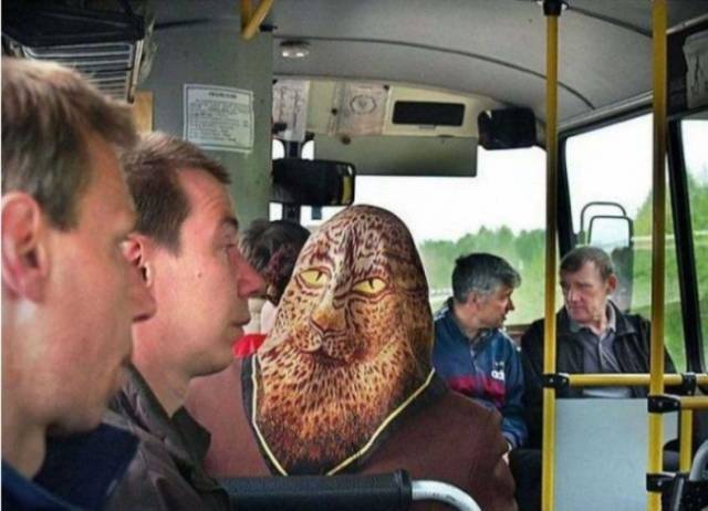 Some People Will Do More Than Everything To Look Special On Public Transport
