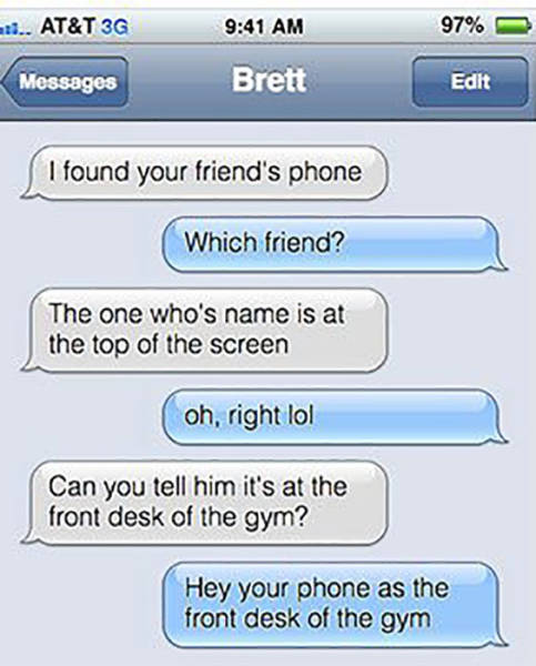 Texting Is Such A Paradise For Trolls