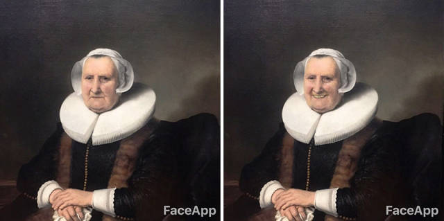 This Guy Brought A Little Joy To The Faces Of Classical Art Characters