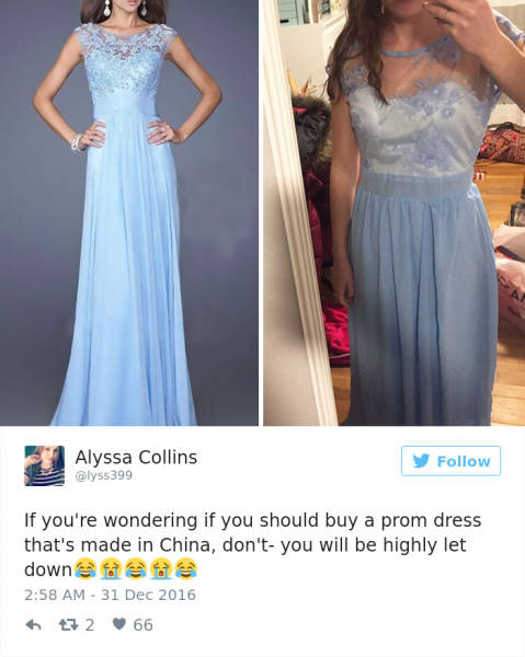 This Is Why You Never Should Order Your Prom Dress Online 42 Pics