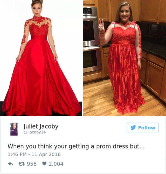 This Is Why You Never Should Order Your Prom Dress Online
