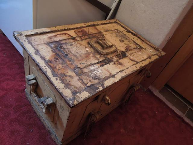 This Old Battered Safe Brings Us Back Right Into 1940s Germany