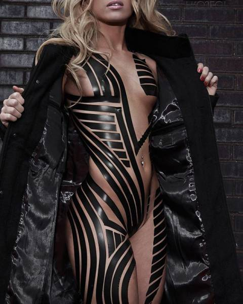 Black Tape Is The Most Revealing Fashion Trend Ever!