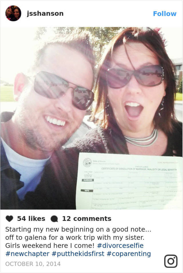 """Divorce Selfie"" Is The New Instagram Trend That Is Getting Far Too Many Controversial Comments"