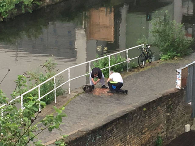 So, They Have Found 15000 2P Coins Just Randomly Piled Near One Of The London's Canals…