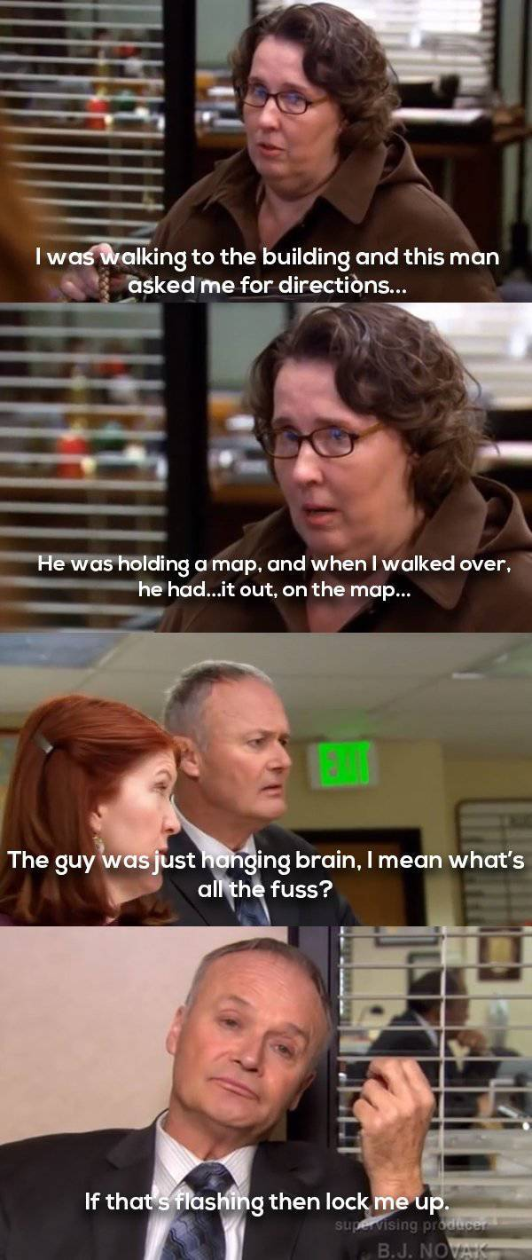 Creed Bratton Is Weird Humor At Its Best