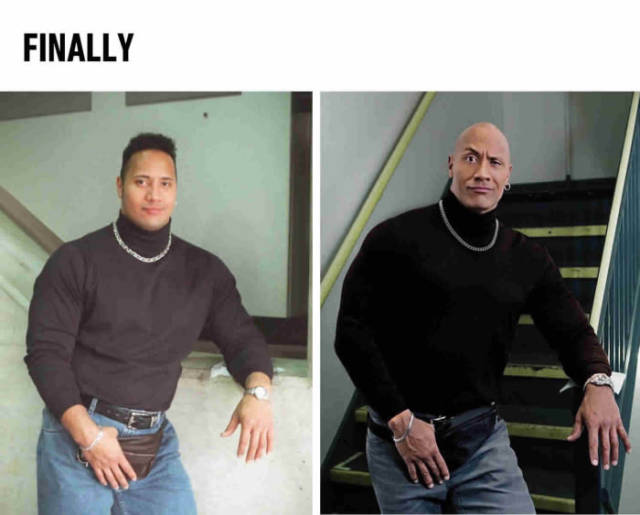 Finally The Rock Has Come Back To His Fanny Pack Realfunny