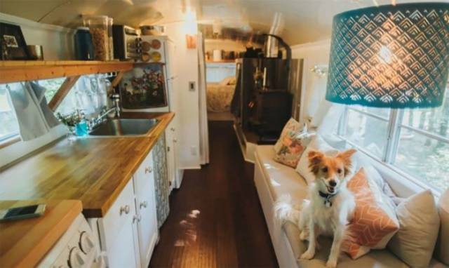 Sometimes, Just An Old Bus Is Enough To Create A Comfortable Home
