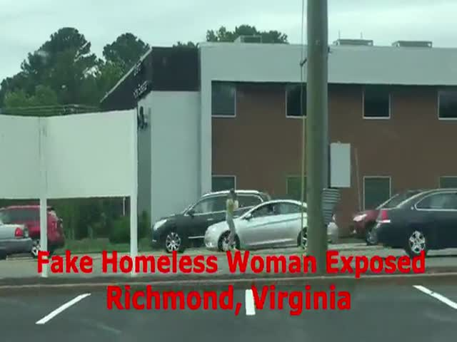Well, That Homeless Woman Earned A LOT From Her Begging Career!