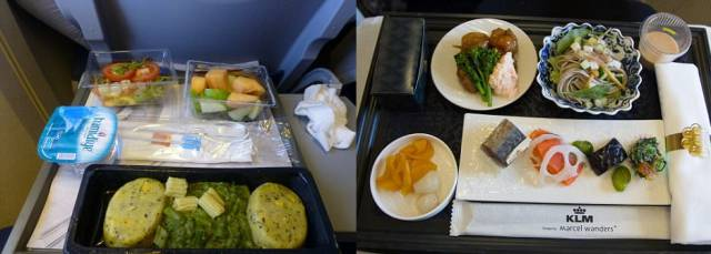 Is Business Class Food In Airplanes Really Twice As Good As That In Economy Class?