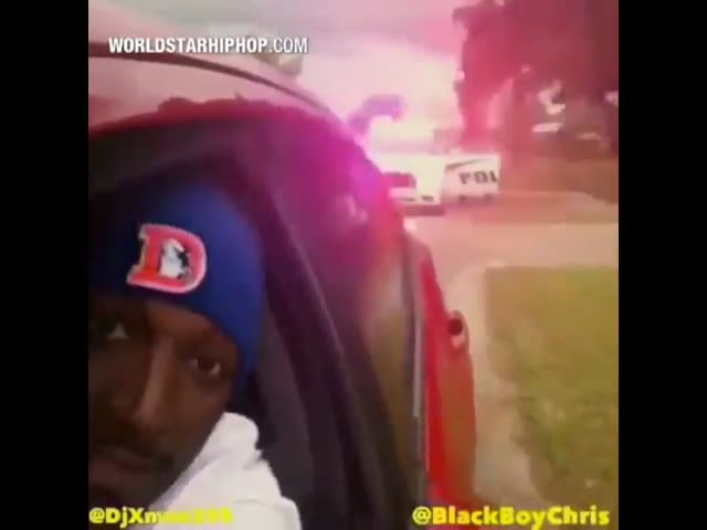 This Guy Clearly Knows What To Do When Pulled Over By Cops