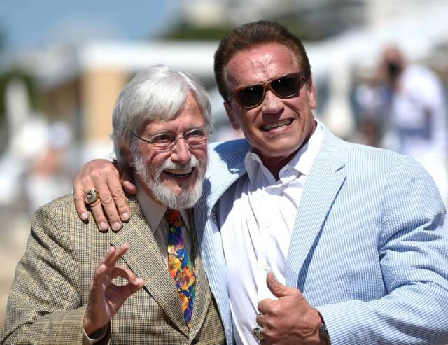 Arnold Schwarzenegger Came Back To Cannes But Not To His Form
