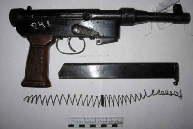Russian Police Has Found An Entire Arsenal Of Homemade Weapons In This Old Man's House!