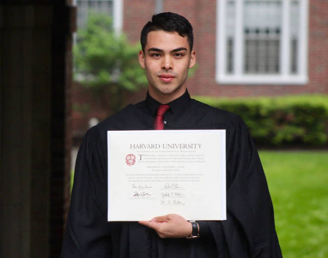 This Guy's Long Hard Way From The Absolute Zero To Harvard Graduation Is The Epitome Of Inspiration