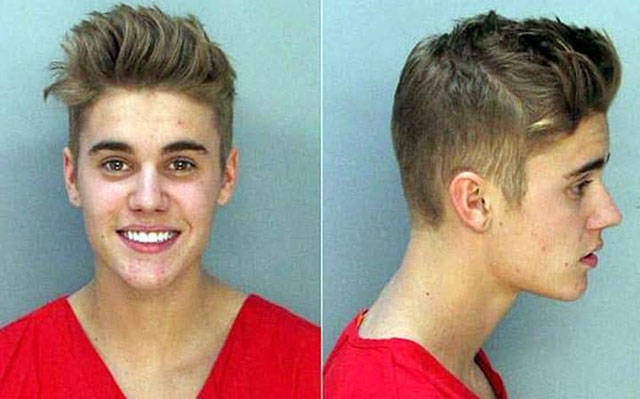 These Celebs Didn't Miss A Chance To Highlight Themselves In A Mugshot