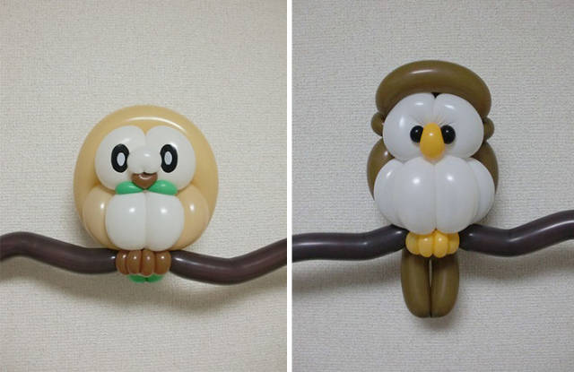 This Artist Manages To Turn Simple Balloons Into Incredible Art!