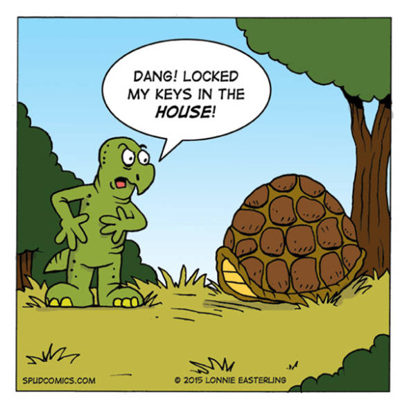Comics Can Be Funny Even With Just One Image In Them!