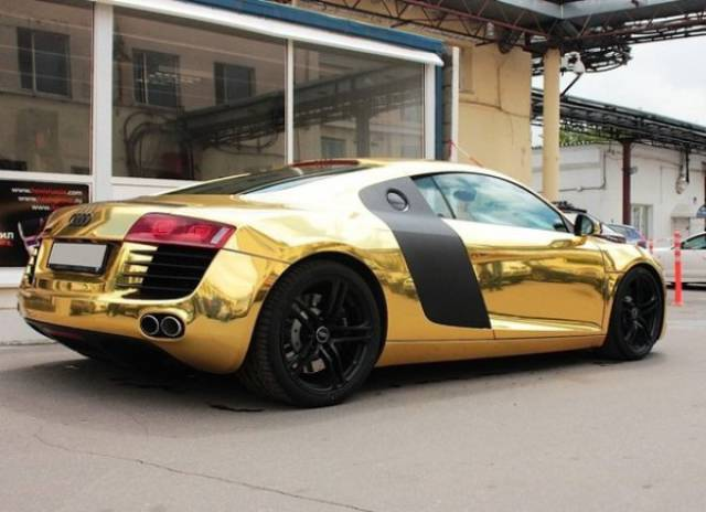 Even Expensive Cars Can Be Ruined (Or Improved?) With Paint Jobs