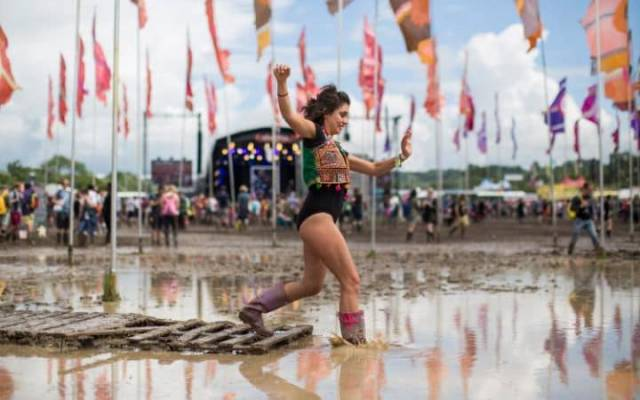 Glastonbury Has All The Mud In The World For Those Who Attend It
