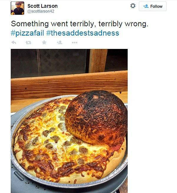 Pizza Is Just Not Meant To Be With Those Who Don't Treat It Well