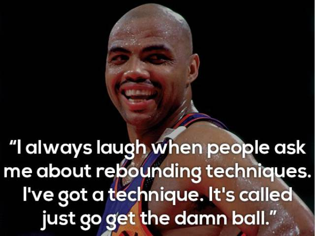Charles Barkley Definitely Is Good At Saying Wise Words