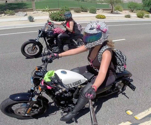 Girls Wanna Take You For A Hot Ride!