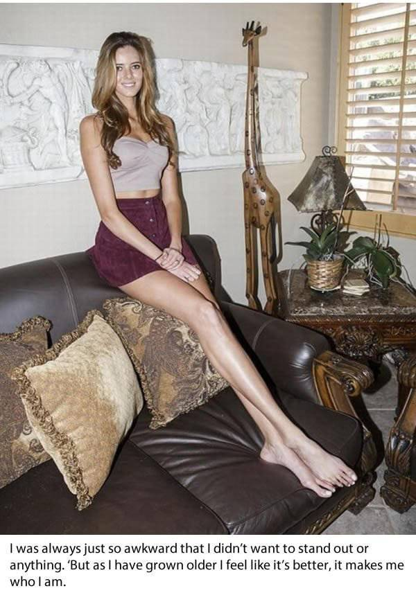 This American Girl Claims To Have The Longest Legs In The US – And She Might Be Right