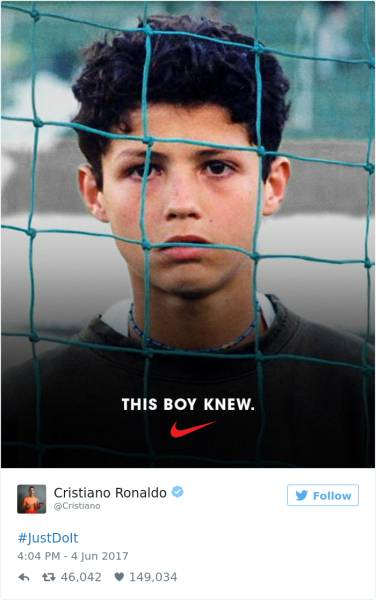That Wasn't The Best Photo Nike Could've Chosen For The Ad Featuring Cristiano Ronaldo…