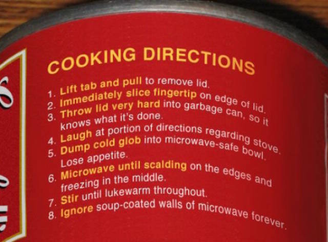 That's How You Make Instructions For Your Products!