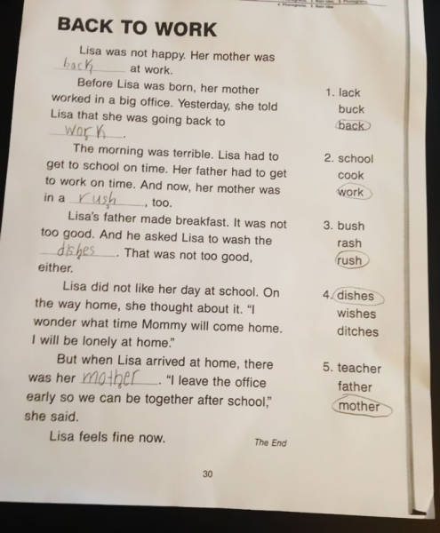 This Mom Found Her Daughter's Homework Offensive So She Went Ahead And Changed Everything