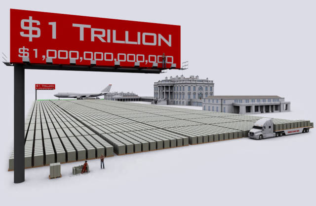 This Is How We Can See How Giant Of A Debt US's $20 Trillion Really Is